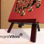 19 cm x 24 cm Aynalı Ayaklı Osmanlı Arması