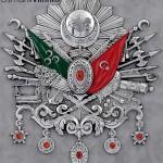75x80 Gümüş Renk Osmanlı Arması